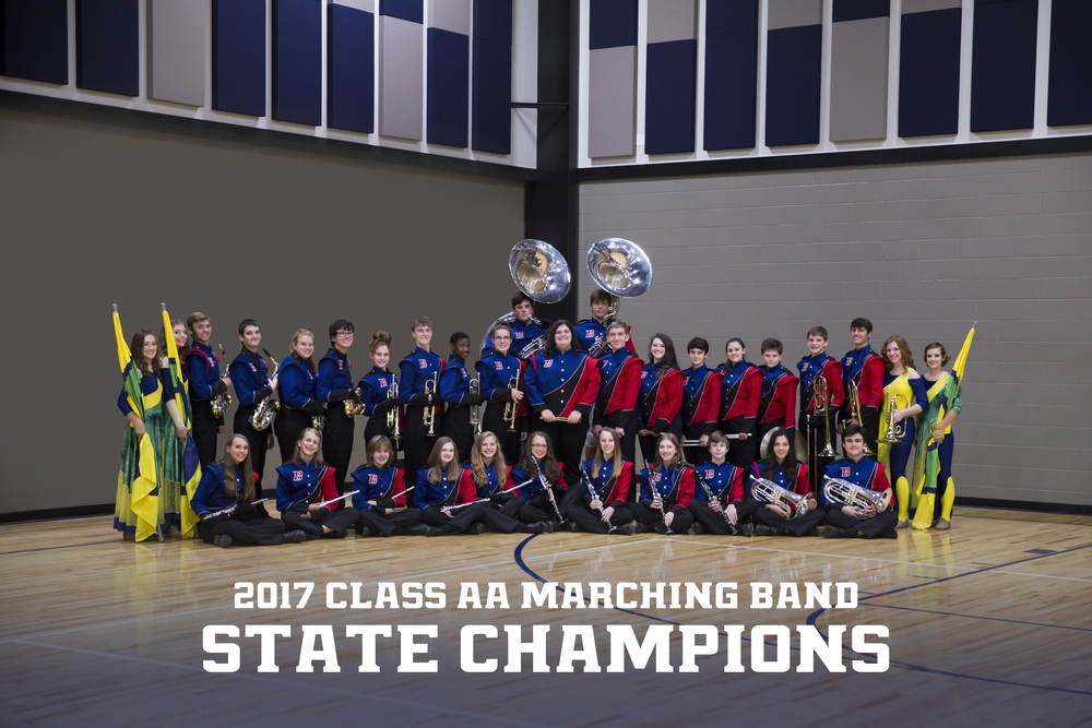 Class AA State Marching Band Champions!