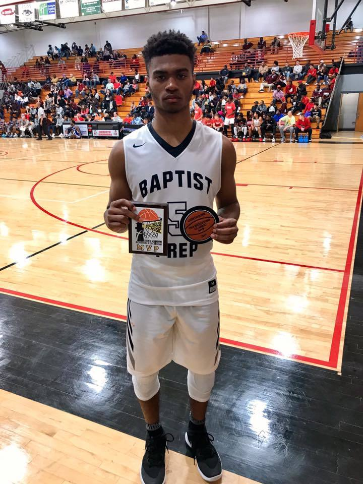 Record for Baptist Prep and Issac McBride