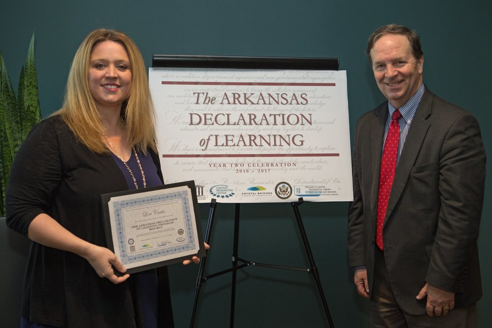 Librarian Lori Curtis completes Declaration of Learning Program